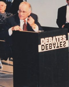 Prof. Savings participated in our Debates Debates Series