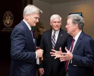 Sen. Bill Cassidy, Rep. Pete Sessions and Goodman Institute President John Goodman produced the new health legislation.