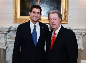 House Speaker Paul Ryan with John Goodman