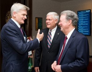 Sen. Bill Cassidy, Rep. Pete Sessions, and Goodman Institute President John Goodman have worked together to produce health reform legislation.